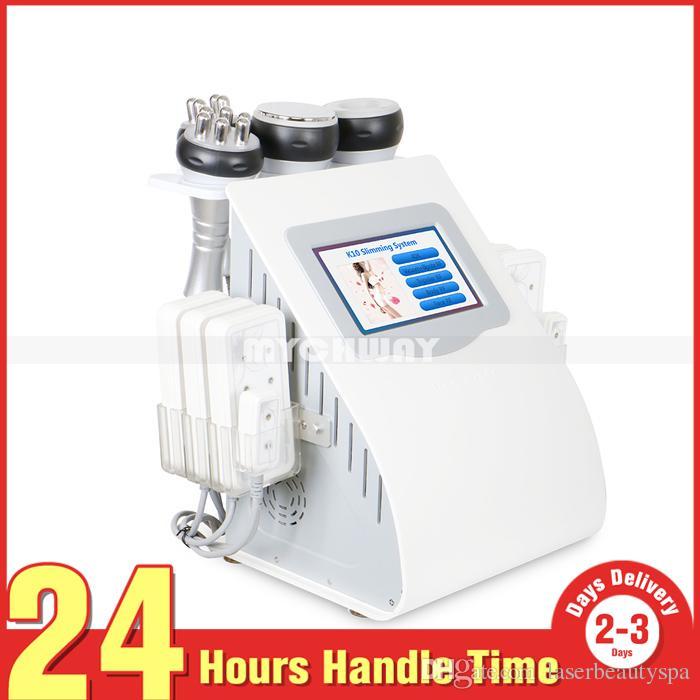 Venta caliente 40 k multifunción RF cavitación ultrasónica contorno corporal adelgazamiento LLLT diodo Lipo láser eliminación de celulitis máquina de salón de pérdida de grasa