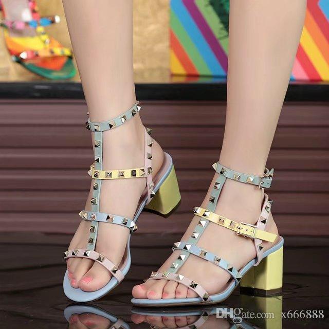 2017 мода кожаные сандалии Женские тонкие туфли на высоком каблуке замша белый заклепки кружева женская обувь плоские кружева повседневная пляж сандалии