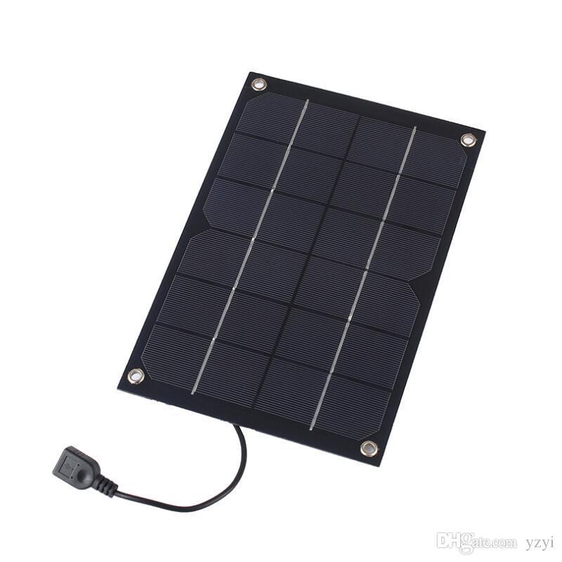 6W 6V 출력 태양 전지 패널 배터리 셀 전압 충전기 컨트롤러 MAX (1A)의 USB 출력 장치 휴대용 스마트 폰은 자전거를 공유
