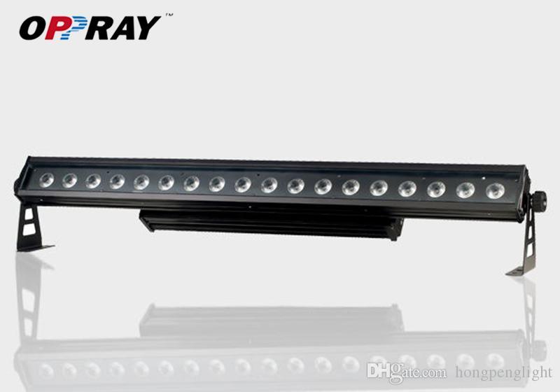 Dioda LED High Power 18 X12W RGBWA UV 6IN1 Outdoor Wall Pralka Jakość Gwarancja IP65 Poziom 6 / 10CH Bar Light