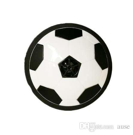 1 Unids Divertido LED Luz Intermitente Bola de Fútbol Air Power Indoor Football Toy Hovering Y Deslizamiento Iluminación Niños Clásicos Deportes juguetes