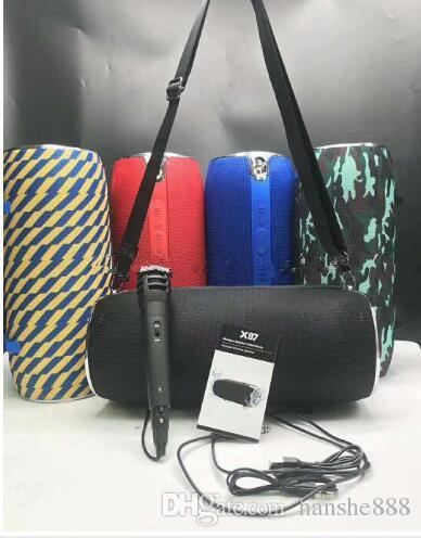 Das neueste x97 wird mit dem tragbaren Mini-Bluetooth-Lautsprechersubwoofer von Mike Mad Outdoor geliefert