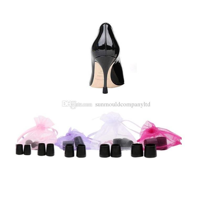 High Heeler balletto latino scarpe a spillo Heel Covers tappo tallone tappi antiscivolo tallone protezioni per la cerimonia nuziale nuziale spedizione gratuita