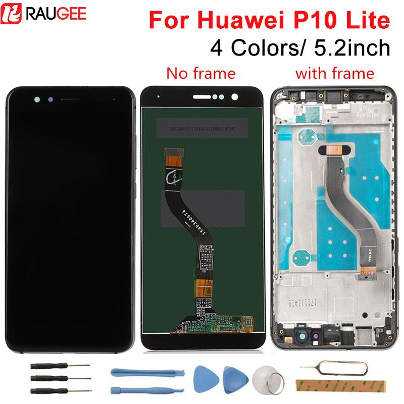 wholesale P10 Lite LCD Display +Touch Screen New Digitizer Screen Glass Panel Replacement For Huawei P10 Lite WAS-LX2J /LX2/LX1A