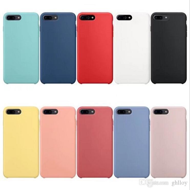 custodia in silicone per iphone 7