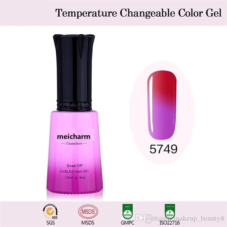 Temperature Change Color Nail Gel Polish Mood changing Colors Gel
