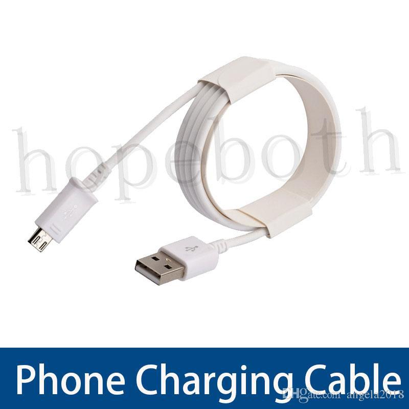 1M 2M 3M Tipo C lungo Forte USB Cavi caricatore del cavo Micro V8 linea dati tappo di metallo di ricarica per Samsung S8 S7 Bordo