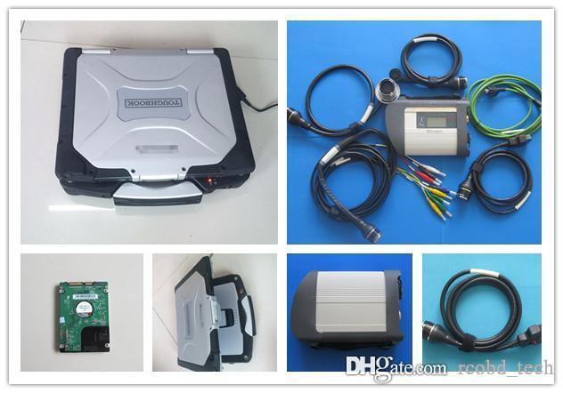 diagnostic scan tool for mb star c4 with hdd 320gb with laptop cf30 toughbook 4g full set ready to use