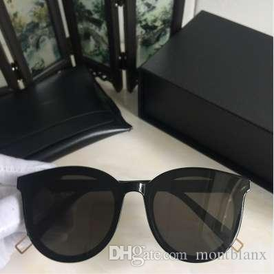 Moda Corea gafas de sol de la vendimia negro peter retro gafas de sol redondas para hombres mujeres suave diseñador de la marca UV400 gafas de sol