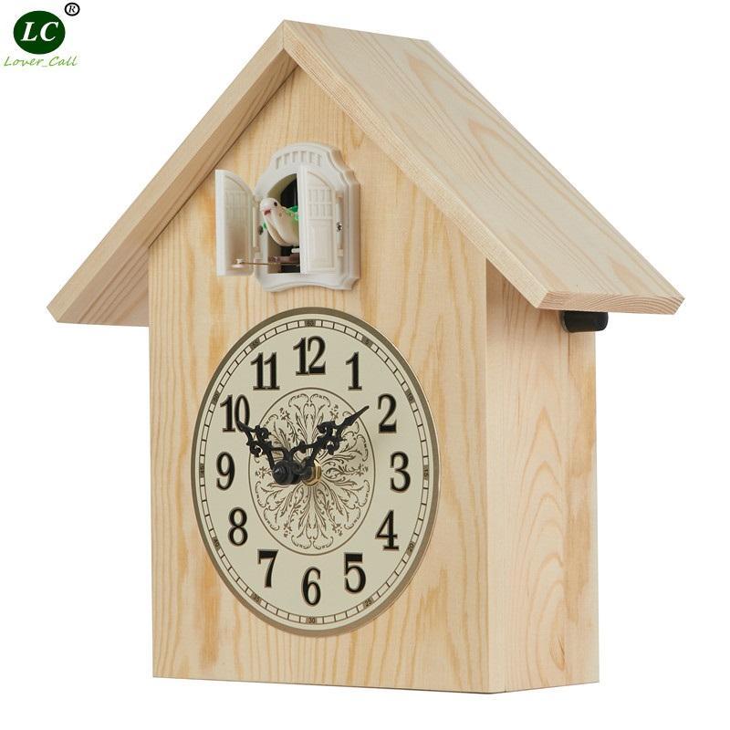 Compre Reloj De Cuco Reloj De Pared De Pájaro De Cuco De Madera Maciza Sala De Estar Simple Asiento Dormitorio Creativo A 62 5 Del Brendin Es Dhgate Com