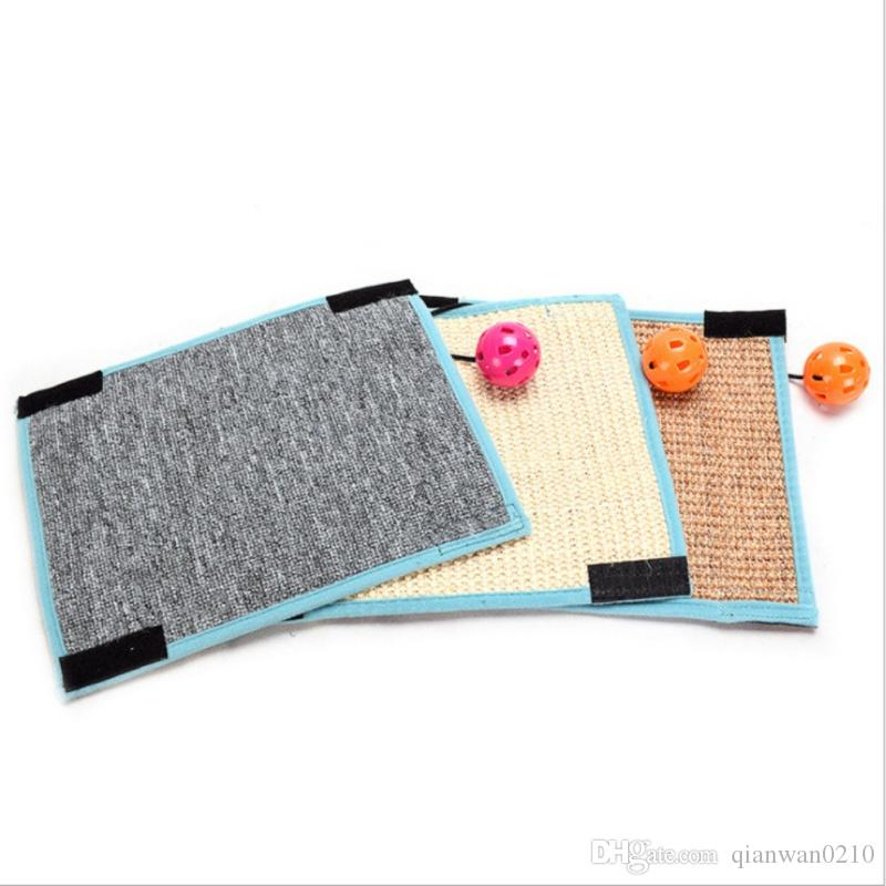 Scratching Board Mat Pad Cat Sisal Loop Carpet Scratcher Indoor Home Furniture Table Chair Sofa Legs Protector Pet Toy