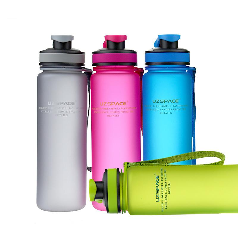 1000ml Water Bottle Eco -Friendly Sports Juice Tea Bottle Travelling Climbing Cycling Bottle Best Choices For Outing Adults