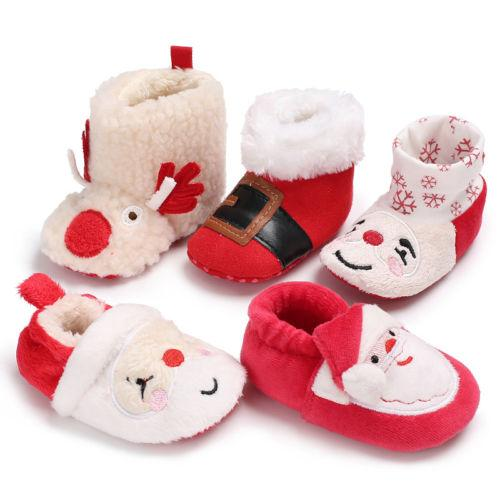 Xmax Cute Newborn Baby Girl Boy Shoes Warm Snow Boots Toddler Infant Booties Shoes Baby Girls