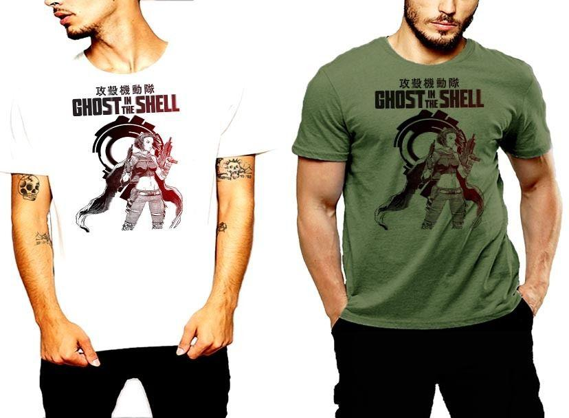 Vintage 1995 Ghost in the Shell Anime Japanimation Men/'s T-shirt size S-2XL