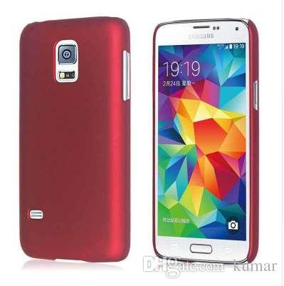 Мода матовый матовый пластик жесткий СПС Samsung Galaxy S5 Mini Case для Samsung Galaxy S5 Mini G800 сотовый телефон Case крышка