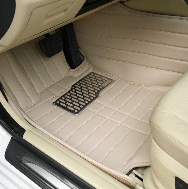 Dostosowane maty podłogowe dla Toyota Land Cruiser 100 200 LX570 LX470 3D Car Styling Wszystkie warunki pogodowe Dywan Dywanów Luksusowe Liners-001