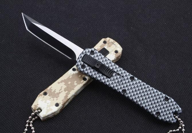 미니 키 체인 포켓 나이프 알루미늄 전술 자기 방어 접는 EDC 나이프 캠핑 나이프 사냥 칼 크리스마스 선물 5 색