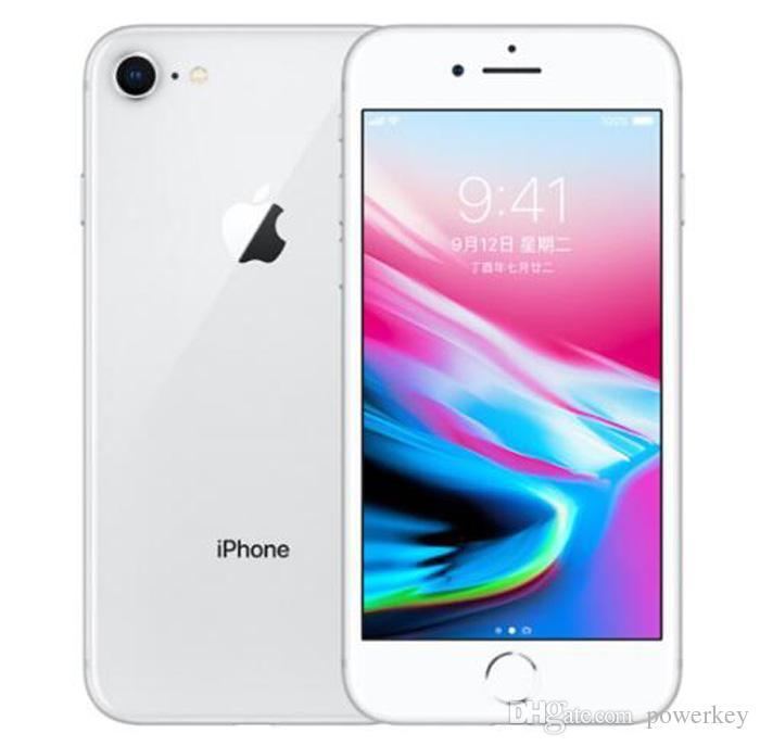 New 100% Original Refurbished Apple iPhone 8 4.7 inch 64GB/256GB ROM 2GB RAM hexa Core 12MP LTE Mobile Phone