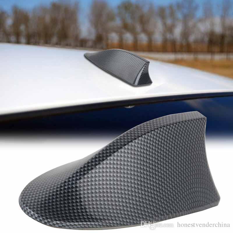 New Universal Car Auto Shark Fin Roof Antenna Radio FM//AM Decorate Aerial GRAY