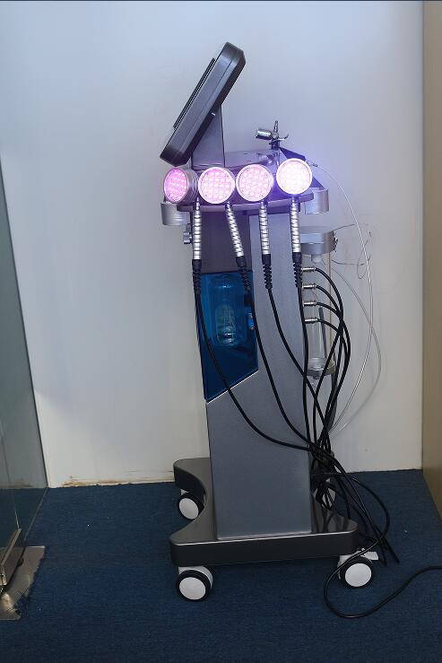 Microdermabrasion Hydro Machine multifonctionnelle faciale Hydro machine faciale marteau froid rejuvenaiton ultrasonique