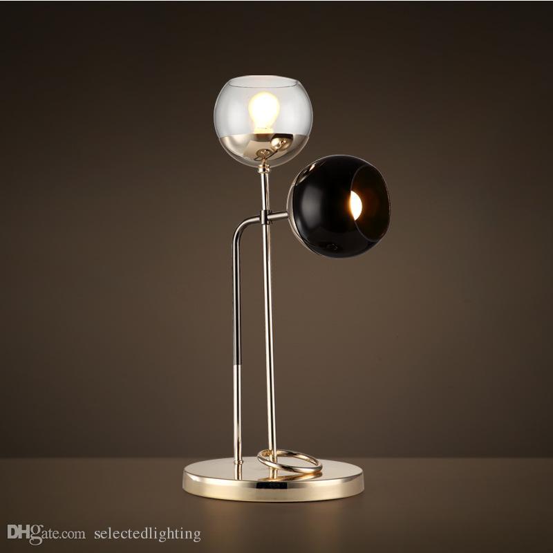 2019 Modern Table Lamp For Living Room Contemporary Desk Light Bedside Lamp Lampara De Mesa Metal Plating Table Lamp Designer S Choice From