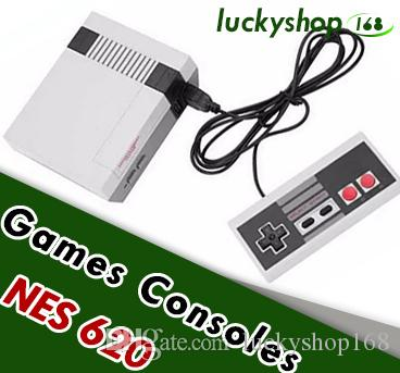 New Arrival Mini TV can store 620 500 Game Console Video Handheld for NES games consoles with retail boxs dhl MQ40