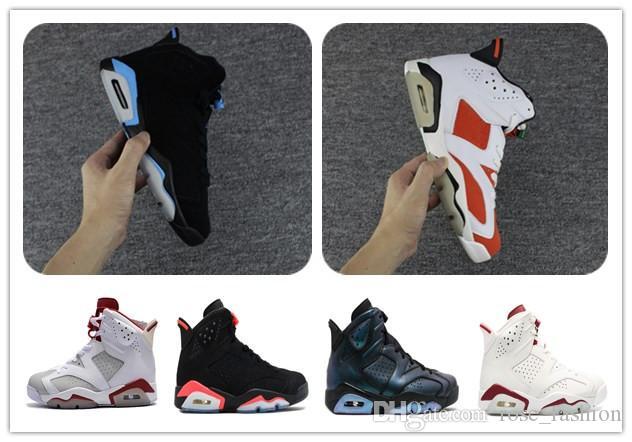 Uomo 6 UNC Gatorade Alternato Vi CNY Scarpe da basket 6s VI All Star Marrone Sport scarpe sportive blu atletica donna Sneaker Calzature con scatola