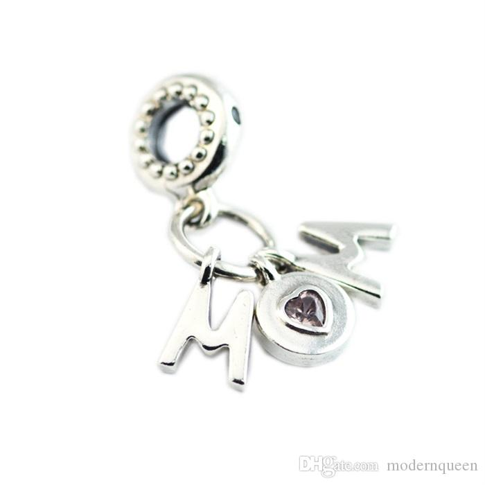 Perfect Mom Mominy Charm Authentic S925 Argento Silver per Bracciale in stile Pandora 797059NSP H8