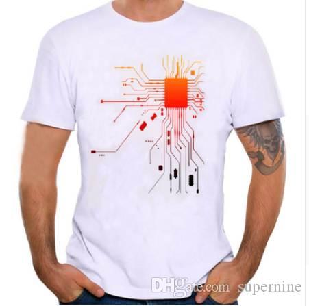 Feitong мужчины печати футболка с коротким рукавом футболка блузка o-образным вырезом причинно-следственной лето весна негабаритных модальные фитнес плотный Летний топ