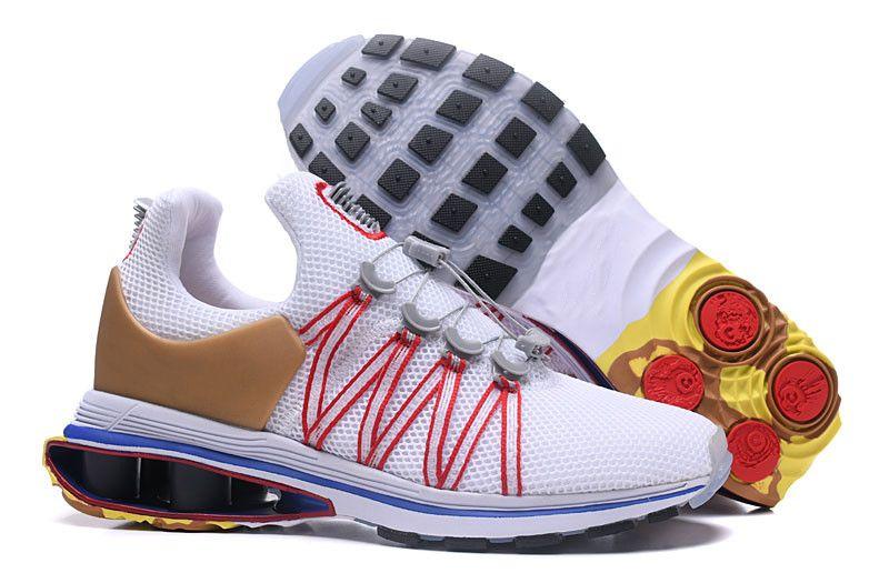 Золотые цвета Shox Gravity 908 Мужская дизайнерская обувь 2018 Chaussures Homme Shox Кроссовки Новейшие мужские баскетбольные кроссовки Nz Размеры 40-46