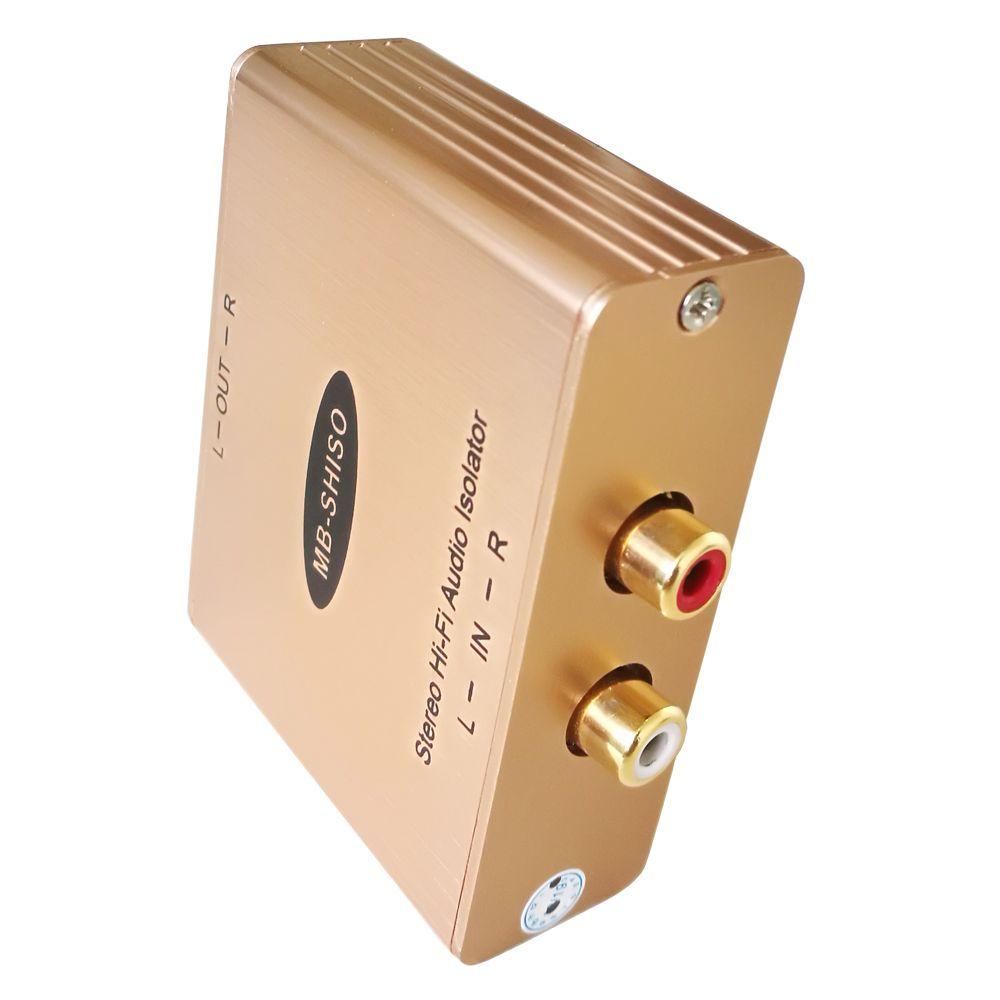 AV Ses İzolatör Stereo AV Ses yalıtımı hum katil gürültü ortadan kaldırmak ile