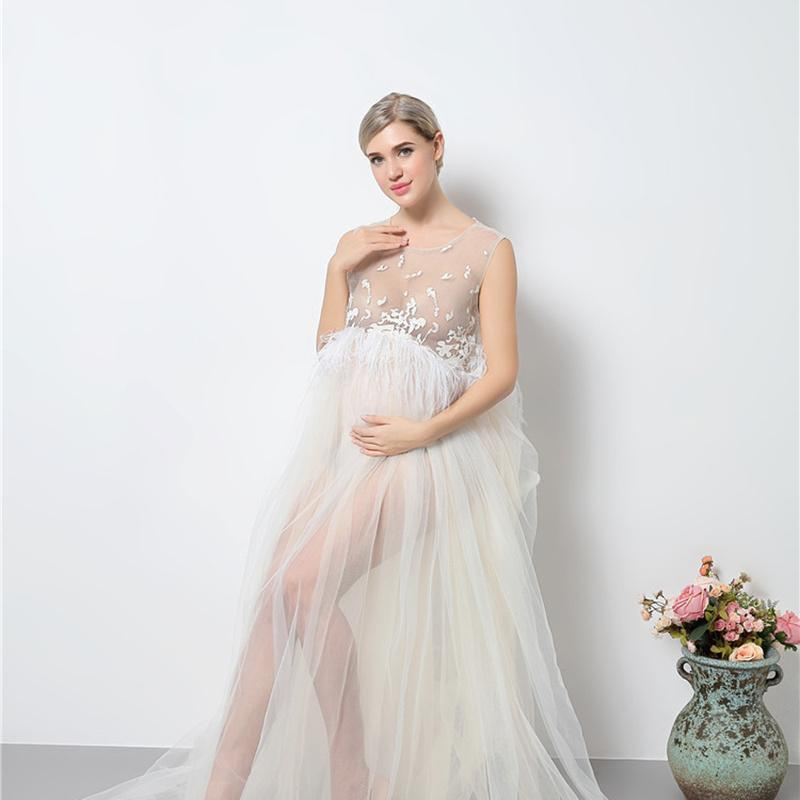 2021 Maternity Gown Photography Prop Maternity Dress Pregnant Women Clothe New Mom Long Floor Length Dresses Tassels Mothers Day From Yunrao 39 47 Dhgate Com
