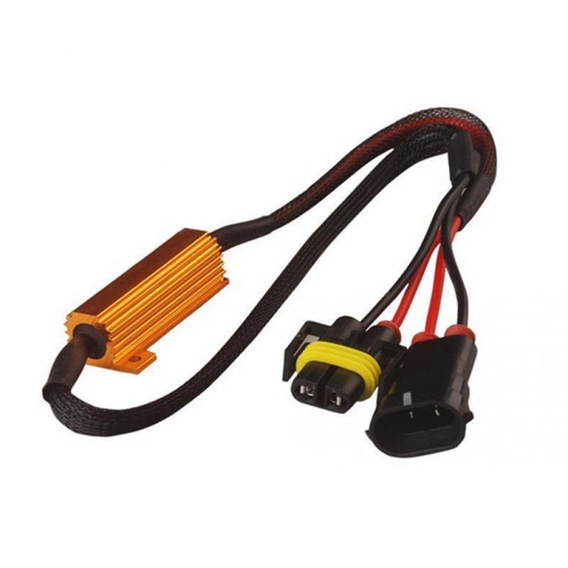 سيارة ضوء H11 / H8 أضواء الضباب فك الصمام مصابيح الضباب خط المقاومة مصابيح الضباب LED