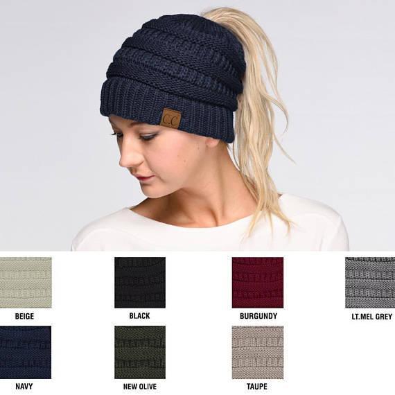 2019 delle signore di modo l'Europa autunno e inverno lavorato a maglia cappello di modo semplice di vendita calda deve singolo prodotto