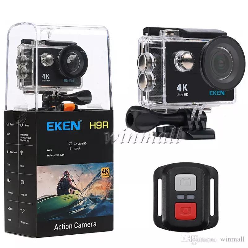 """100% Original EKEN H9 H9R 2.4G Remote Control Ultra HD 4K Action Camera WiFi 2.0"""" 170D Underwater Waterproof Helmet Sport cam"""