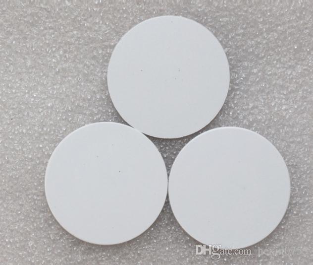 Pegatinas de Etiquetas RFID de 125 khz EM4100 Adhesivas 25 mm Tarjeta Inteligente de proximidad para Control de Acceso.