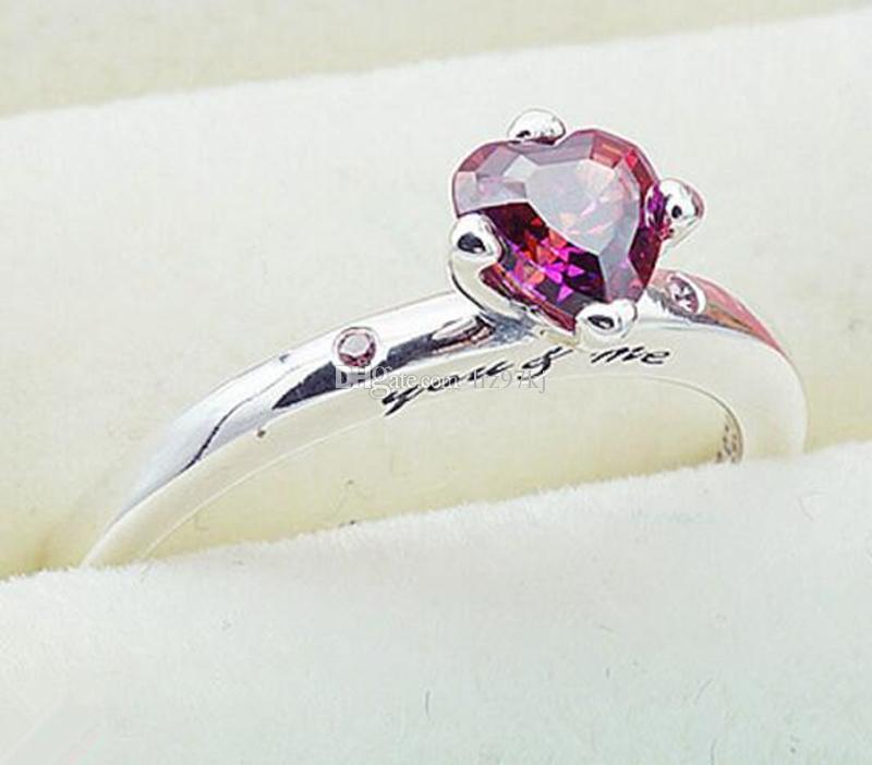 check-out b526f 1acdb Acquista Alta Qualità 100% 925 Sterling Silver You Me Ring Con Charm CZ  Europeo Stile Gioielli Pandora A $16.49 Dal Lrz97kj   DHgate.Com