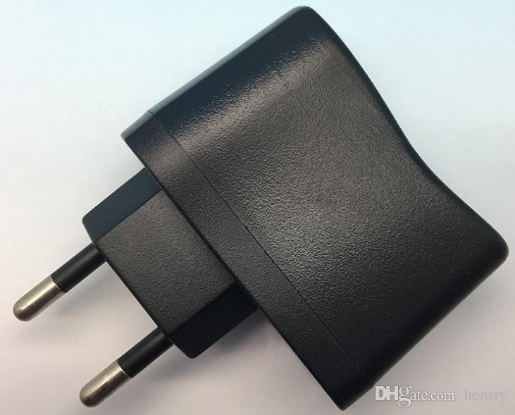 Caricabatterie USB europeo 5V 500mA Interfaccia di ricarica USB USB USB Standard Adattatore di alimentazione USB multiuso UE Adattatore di alimentazione standard UE 30pcs