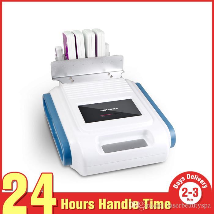 160mw HBÖ Zayıflama Lipo Lazer Kilo Kaybı Kol Bacakları Fat Burning Temizleme Güzellik Makinesi 4 Büyük + 2 Küçük Pedleri Ile