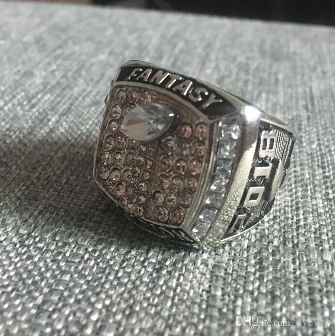 Новое прибытие Чемпионов кольцо, 2018 фэнтези футбольная лига Чемпионат кольцо, футбольные болельщики кольцо, мужчины женщины подарок кольцо груза падения