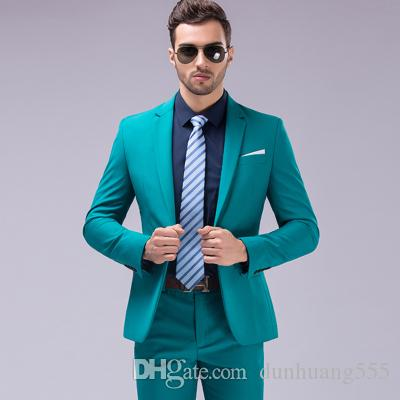 Personalizza Slim Fit Classic Design Groom Tuxedos Best Men Coat and Pants Ultimi Abiti da sposa