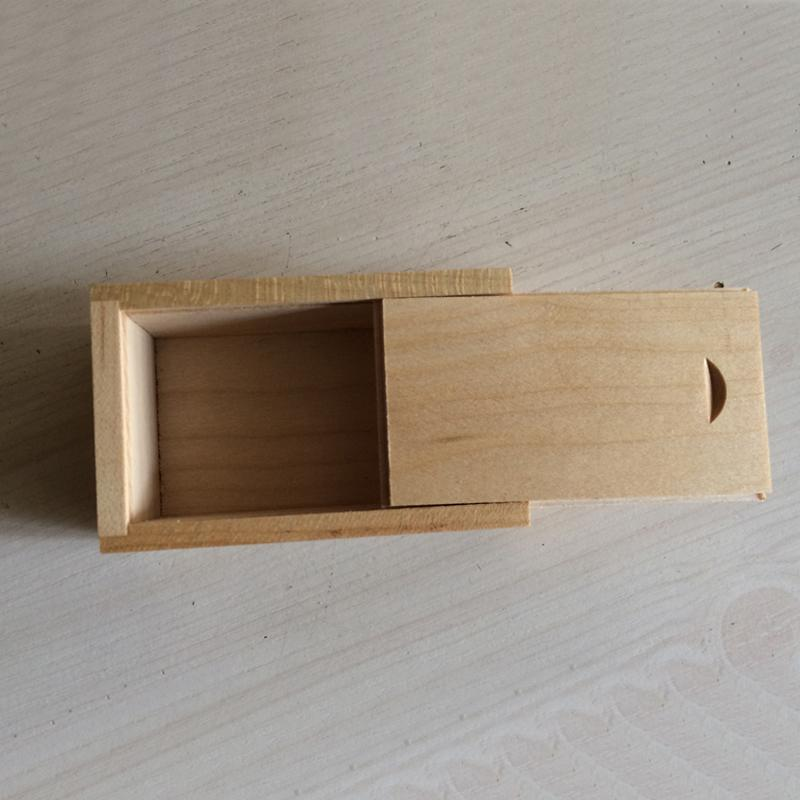 10 шт. нет логотипа бамбук упаковка коробка бамбук и дерево подарочная коробка дерево прямоугольная подарочная коробка размер 95x55x25MM 3,74 х 2,16 х 0,99 дюйма