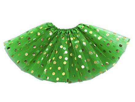 Kids Infant Tutu Skirt Baby Girls Tutus Dancewear Golden Polka Dot Tutu Dress Newborn Tutu Pettiskirt