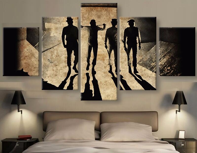 2019 Modern Canvas Painting Wall Art Black Cool Men With Shadow Painting  Artwork For Wall Decor From Emmagallery, $19.6 | DHgate.Com