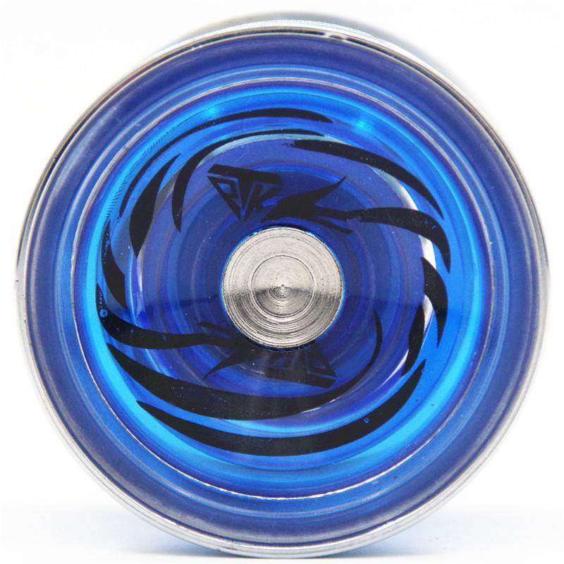 YOYO TPK Ice crystal Phoenix yoyo V5 CNC metal ring Yoyo for Professional yo-yo player Metal and plast Material Classic Toys
