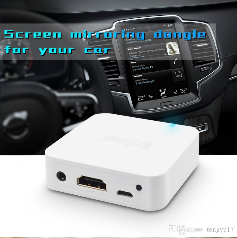 MiraScreen X7 TV-Stick-Dongle Anycast Crome Cast HDMI / AV WiFi-Display Empfänger Auto Miracast Google Chromecast 2 Mini-PC / TV pk G2