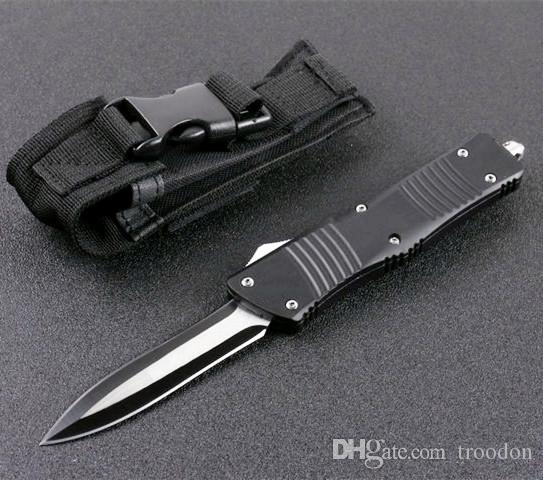 5 modèles COMBAT FB01 B01 double action en aluminium CNC cadeau de Noël couteaux de chasse couteau couteau pliant edc auto-défense de camping tactique