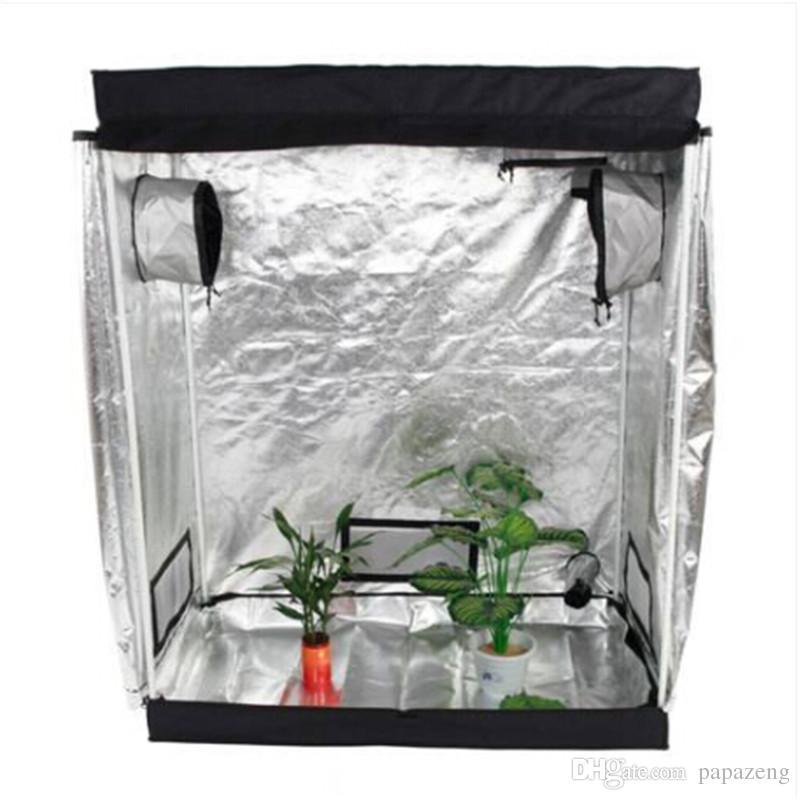 Toptan 120 çevre dostu bir şekilde Pencere sera bitkileri ile x 60 x 150cm Evde Kullanım Demonte hidrofonik Bitki Yetiştirme Çadır
