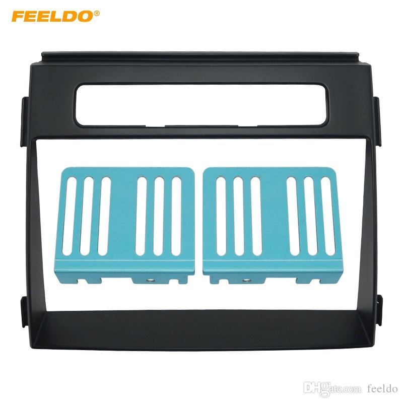 FEELDO 2DIN Автомобильный CD / DVD-радиоприемник Панель панели лицевой панели для панели крепления панели приборов KIA Soul # 5172
