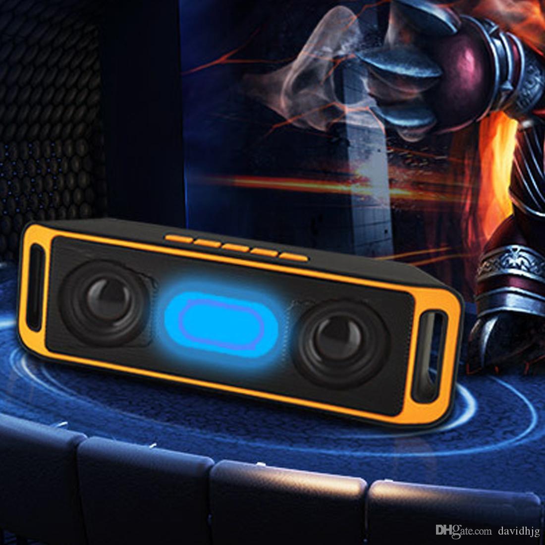 SC208 سوبر باس صوت المتكلم بلوتوث portatile ستيريو سينزا فيلي مضخم الصوت tf usb fm راديو radiocan رابط لكل ايل telefono forhuawei
